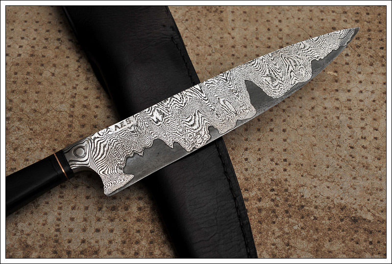Good ... Damascus Kitchen Knives For Sale Integral San Mai Damascus Kitchen Knife  The Knife Forums ...